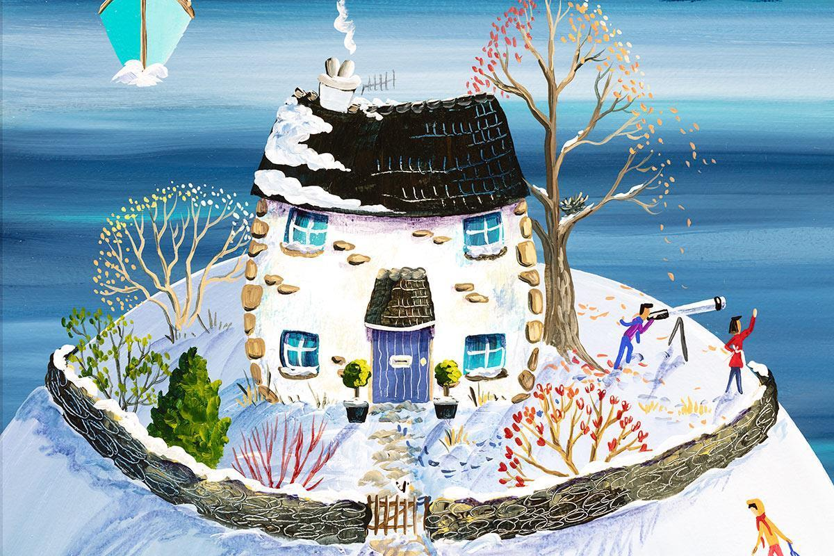 Lookout Cottage in Winter Anne Blundell