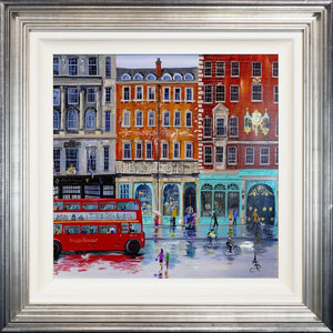 Rainy Day Piccadilly Anne Blundell