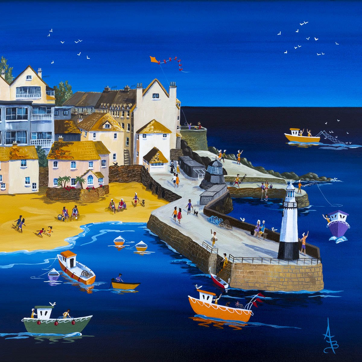 St Ives Summer - Original