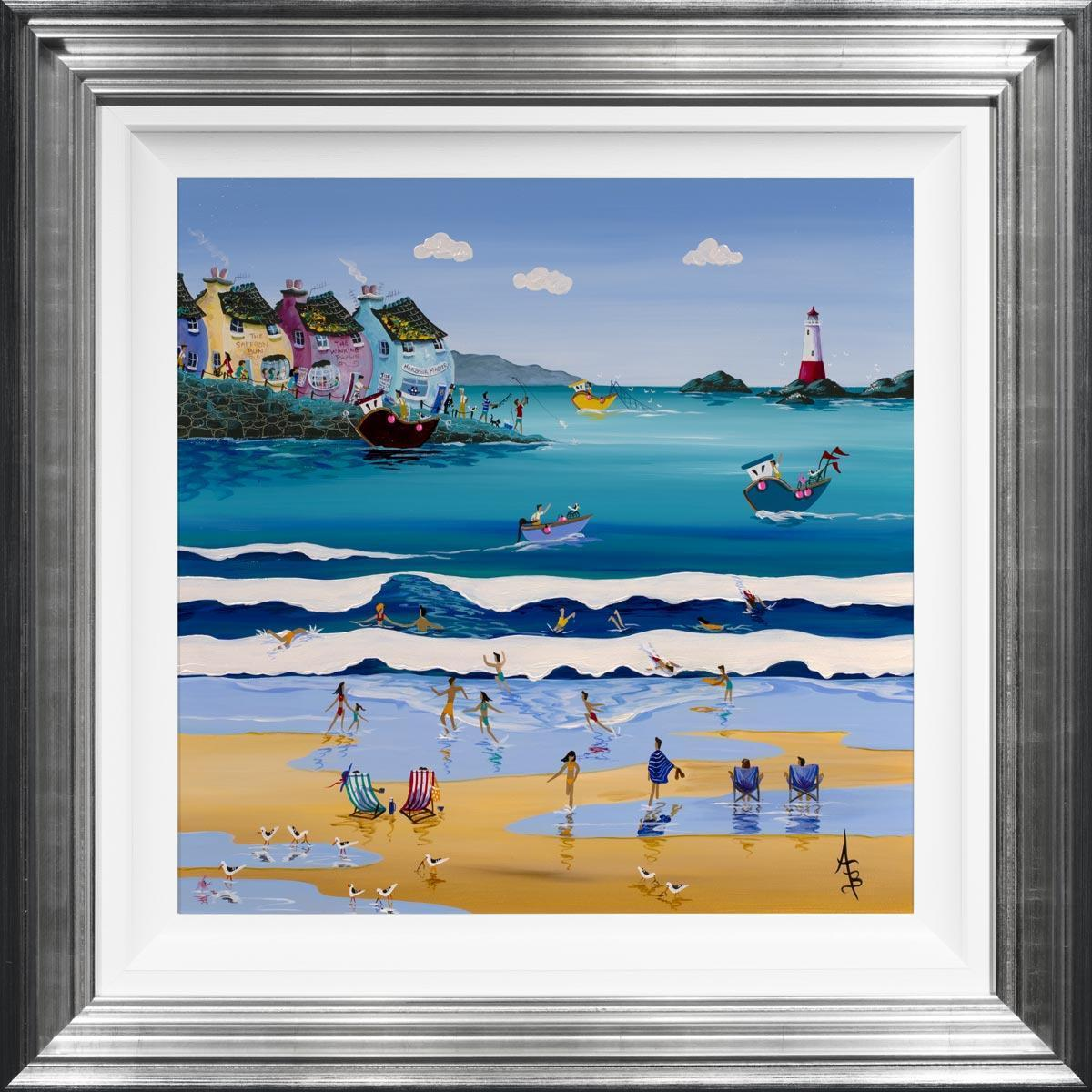 Summer Surf Anne Blundell Framed