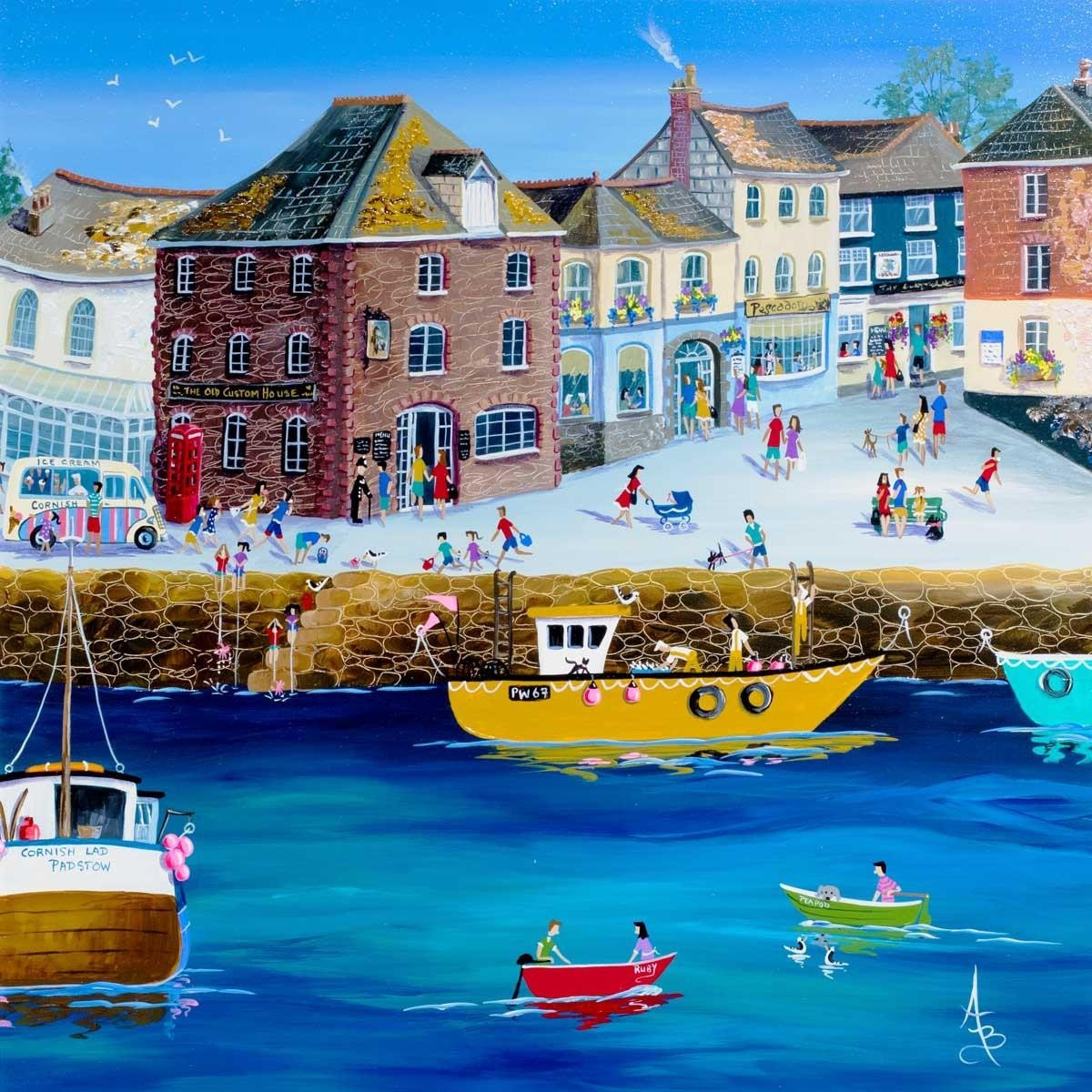 The Old Custom House Padstow Anne Blundell