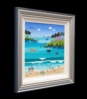 The Shell Seekers - Original Anne Blundell Framed