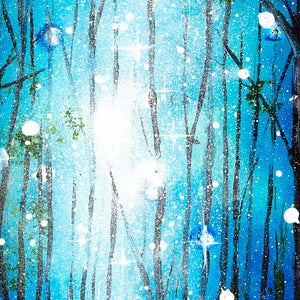 Enchanted Forest - Original Becky Smith Framed