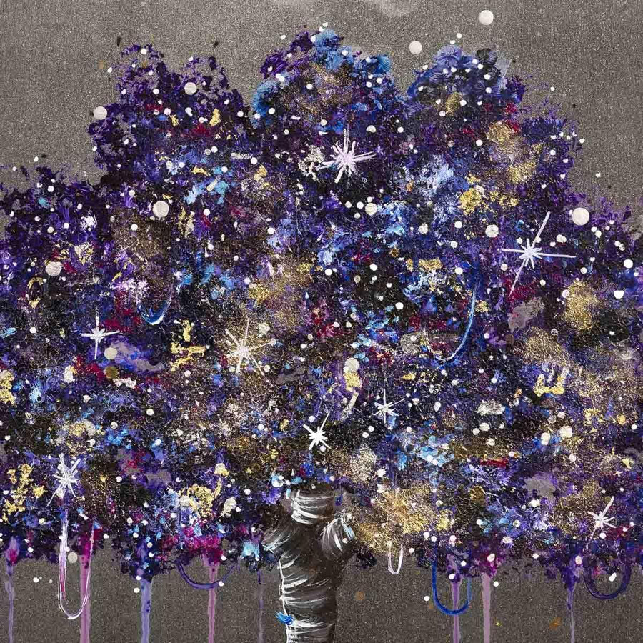 Galaxy Tree Becky Smith Framed