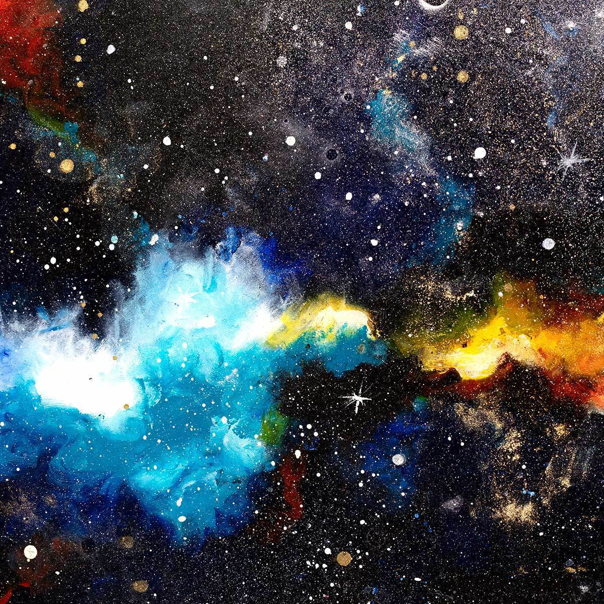 Intergalactic Space - Original - SOLD