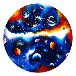 Interstella: Worlds Collide - Orignal - SOLD Becky Smith Mounted