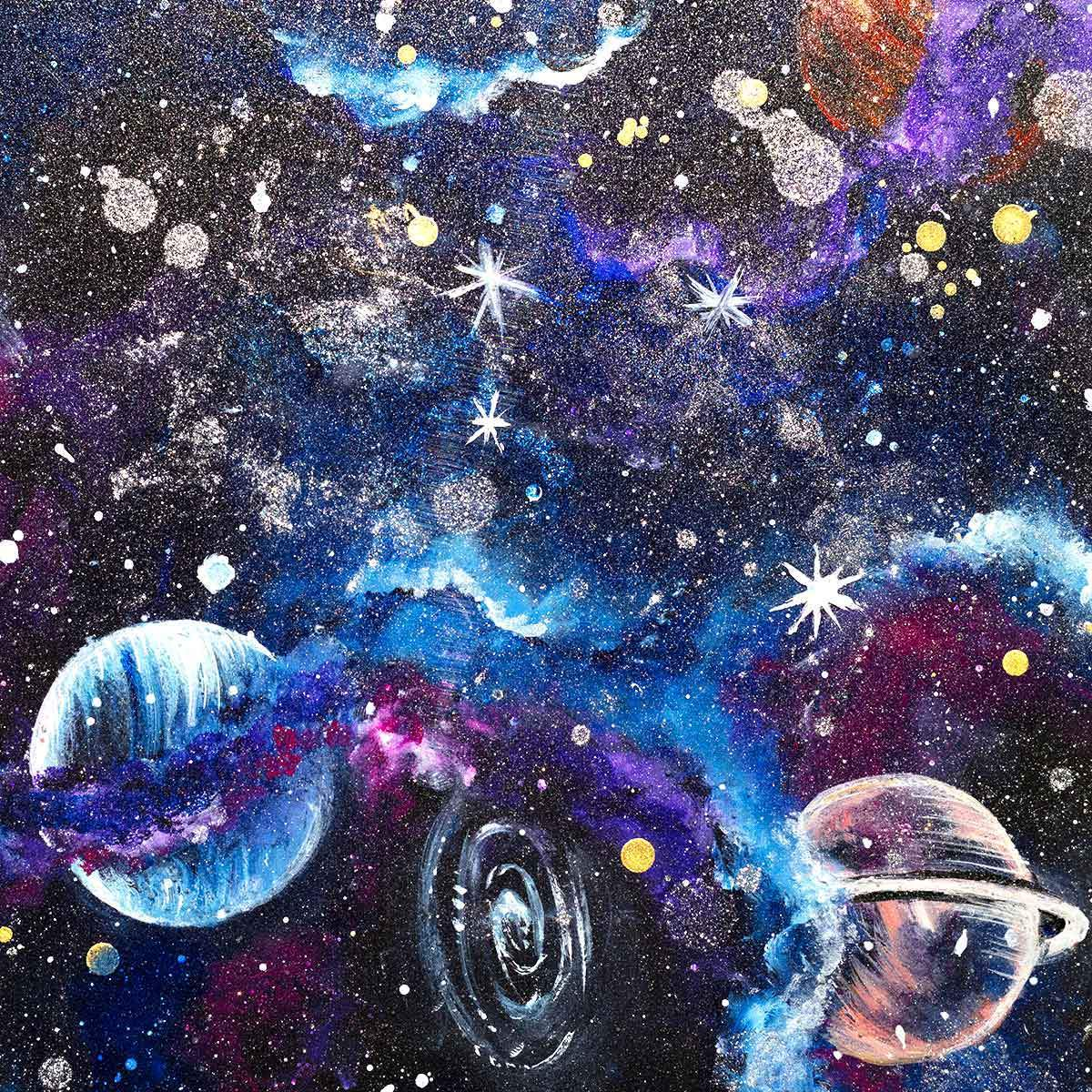 Space Bound - Original - SOLD