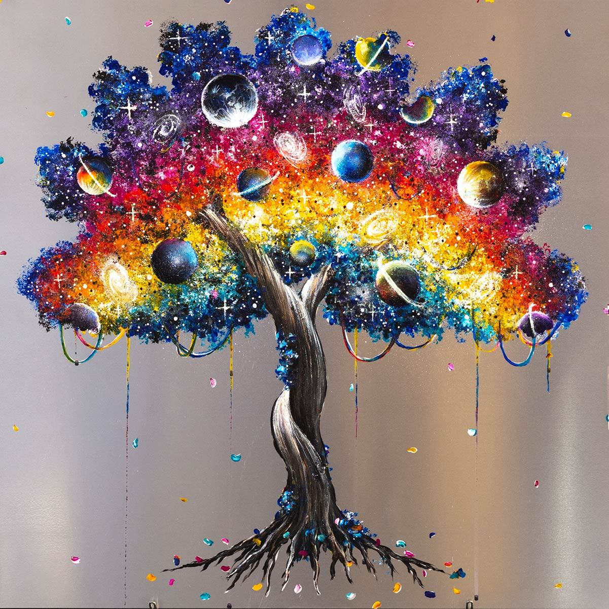 Tree of Colour - Original Becky Smith Framed