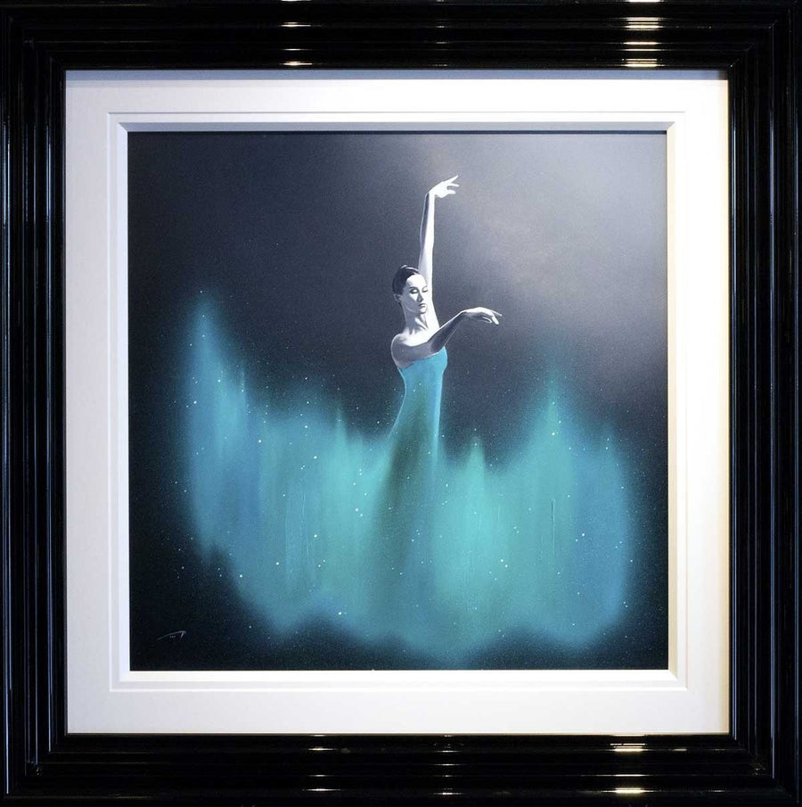 Dancer in Aquamarine - SOLD Ben Payne