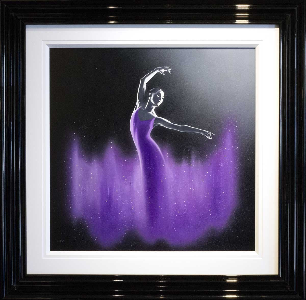 Dancer in Lilac - SOLD Ben Payne