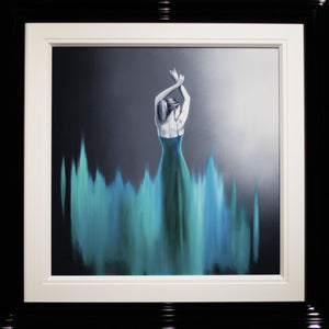 Dancer in Turquoise - SOLD Ben Payne