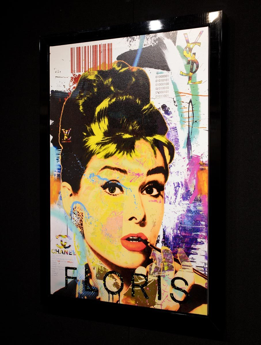 Audrey - Limited Edition Bisaillon Brothers Framed