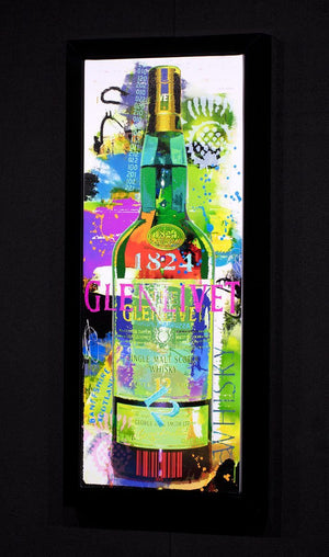 Glenlivet - Limited Edition Bisaillon Brothers Framed