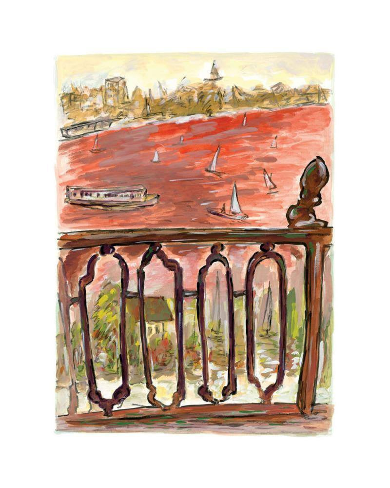 Vista from Balcony, 2012 - SOLD Bob Dylan