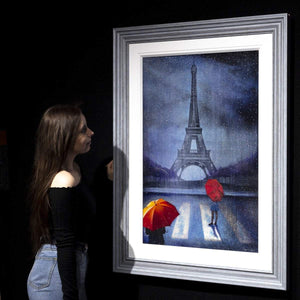 Parisian Storms - Original Brenda Herd Framed