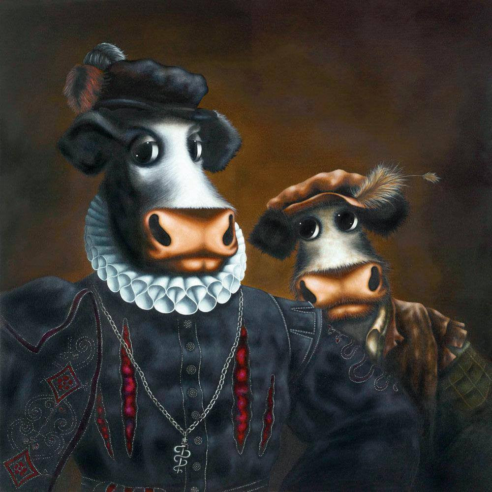 Black Udder & Bulldrick - SOLD OUT Caroline Shotton