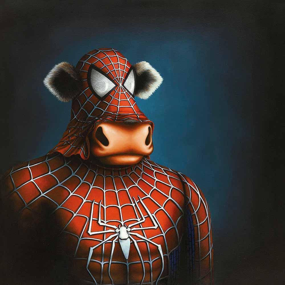 Spidermoo - SOLD OUT Caroline Shotton