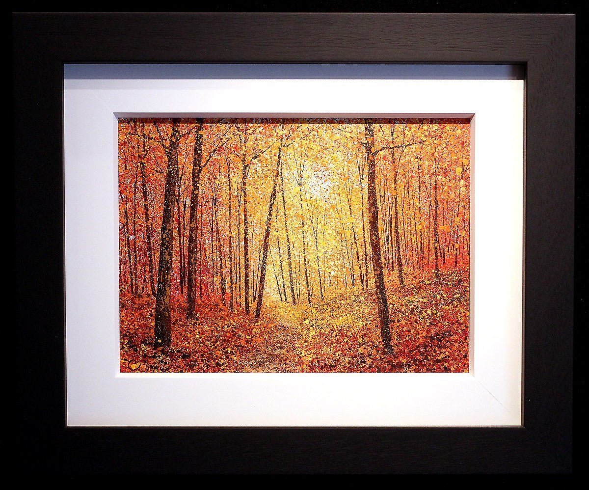 Autumn Daze -SOLD Chris Bourne