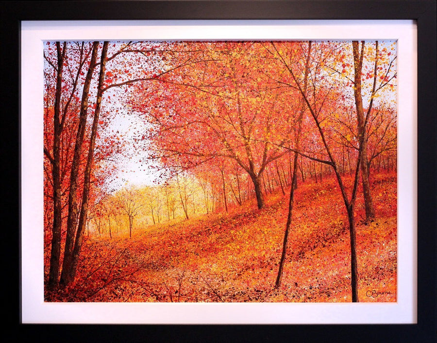Autumn Shadows - SOLD Chris Bourne