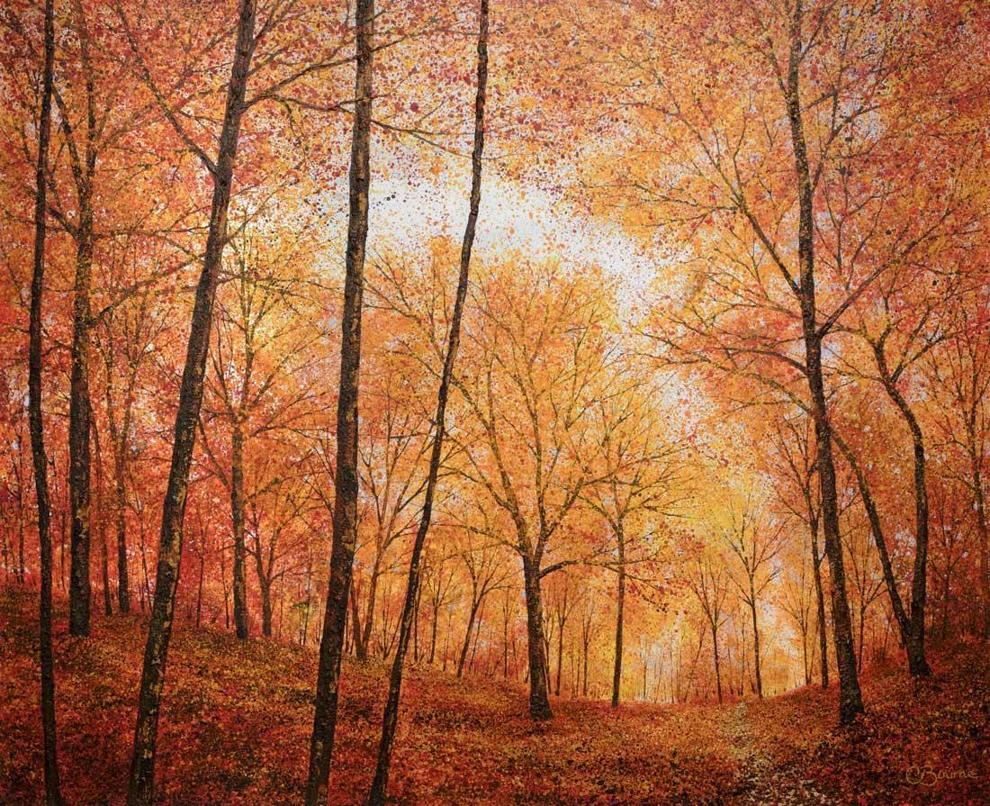 Autumn Way - Original Chris Bourne