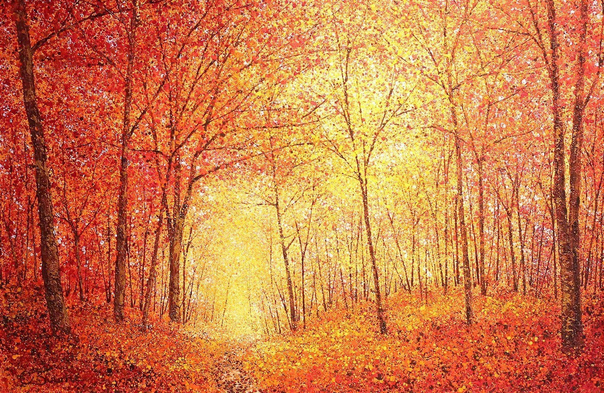 In the Middle of Autumn - SOLD Chris Bourne