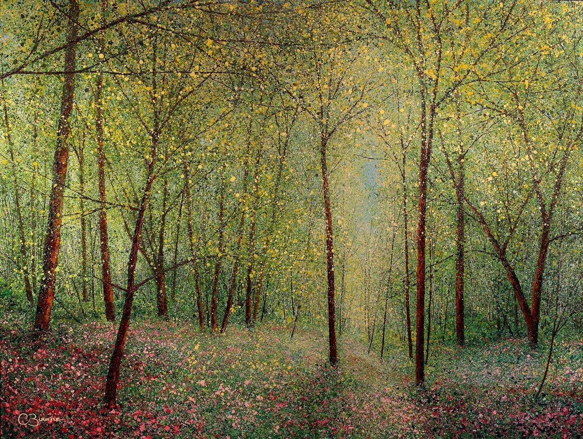 Summer Woodland - SOLD Chris Bourne
