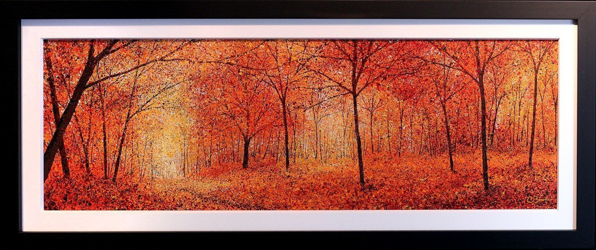 The Pathway (Autumn) - SOLD Chris Bourne