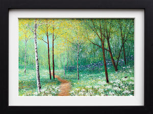 Walking through Daisies - Original