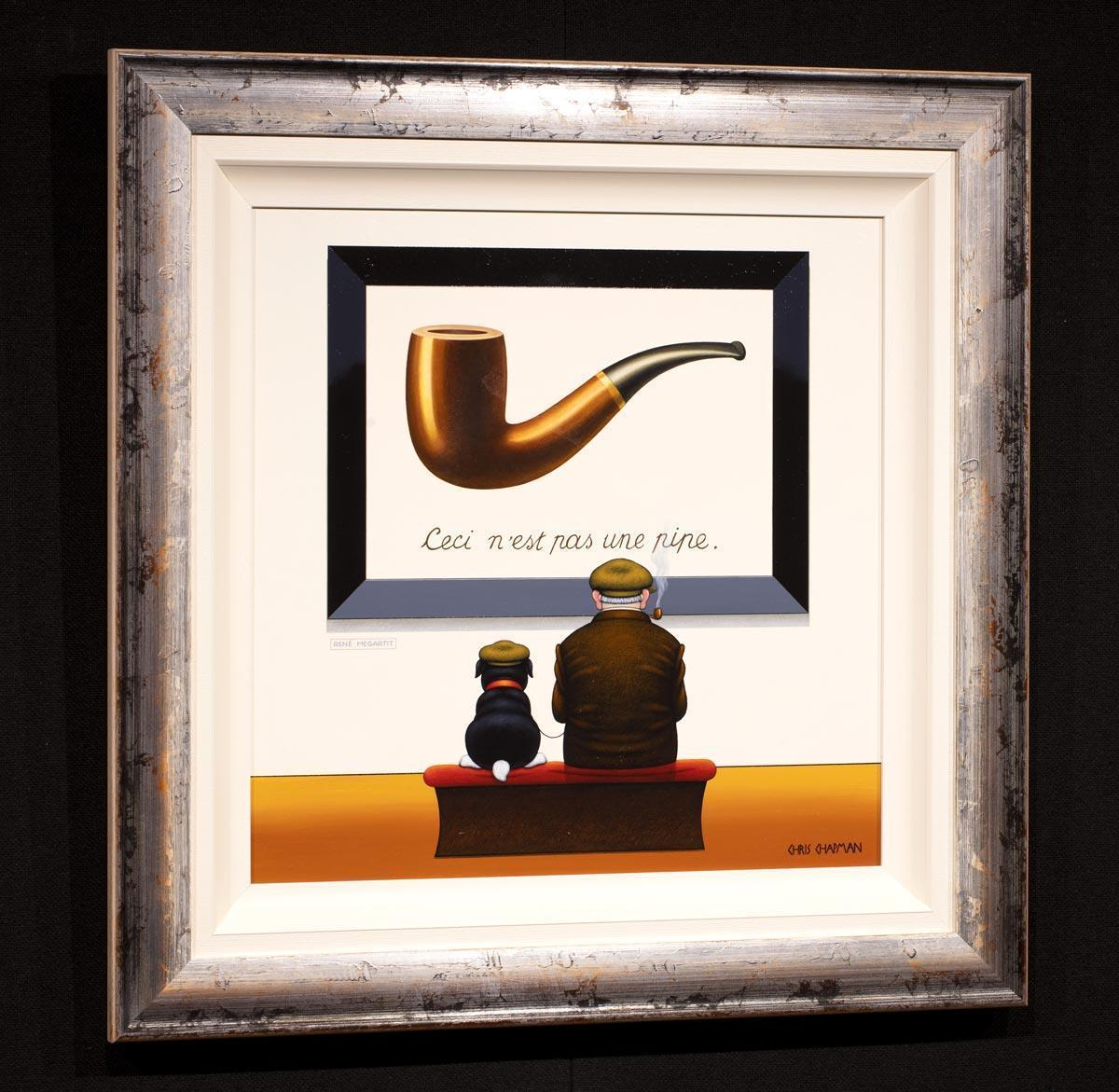 Pipes and Caps Chris Chapman Framed