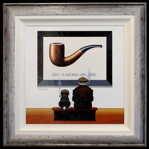 Pipes and Caps - SOLD Chris Chapman