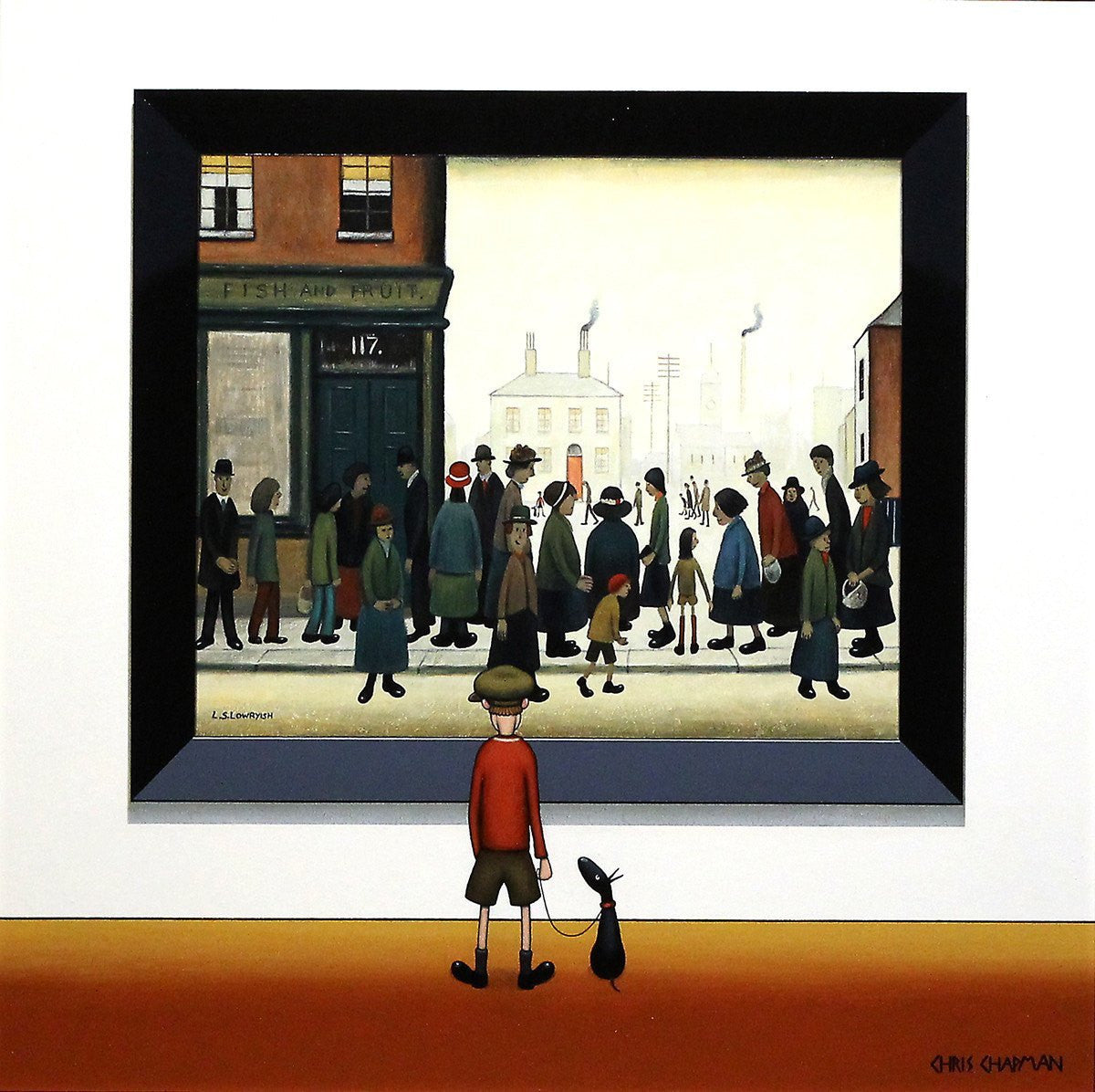 Shoppers - SOLD Chris Chapman