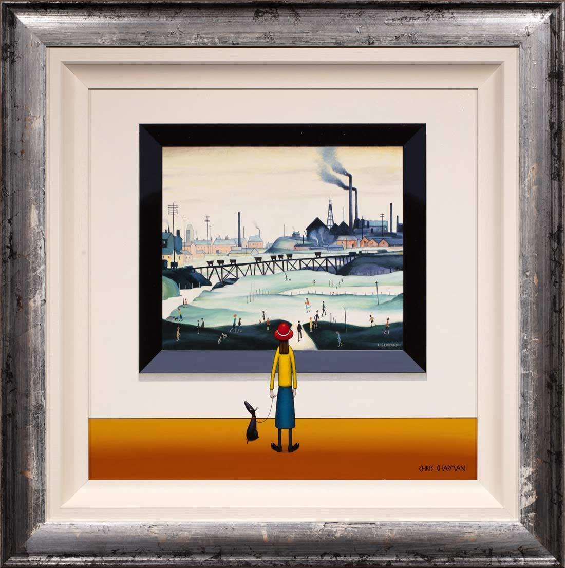 The Colliery - Original Chris Chapman Framed