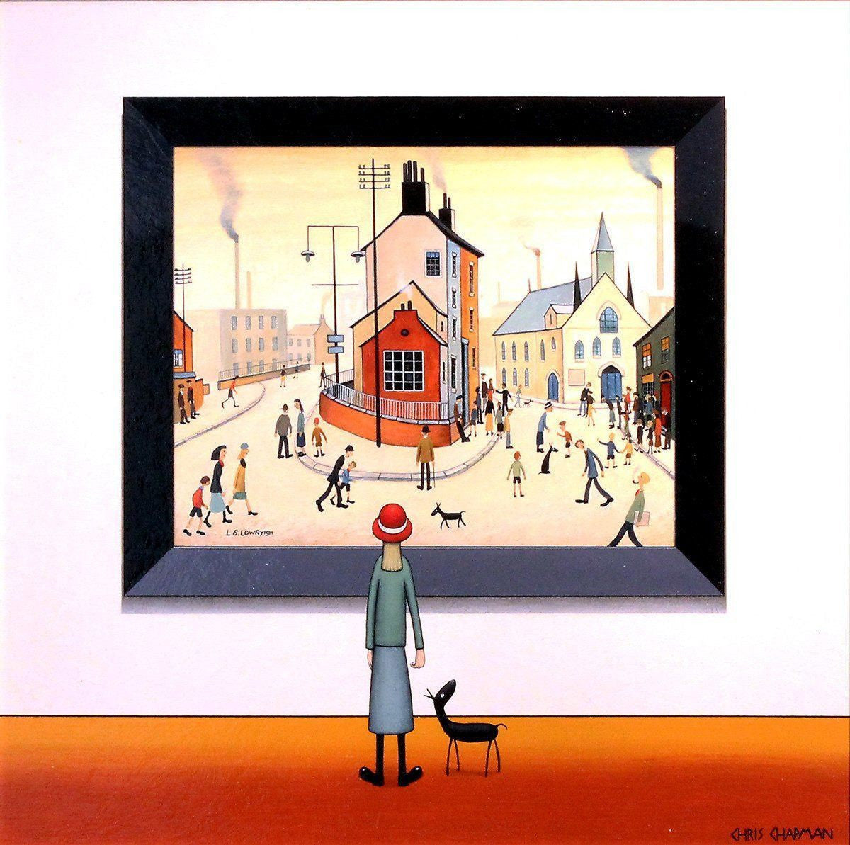 Walking Past The Church - SOLD Chris Chapman