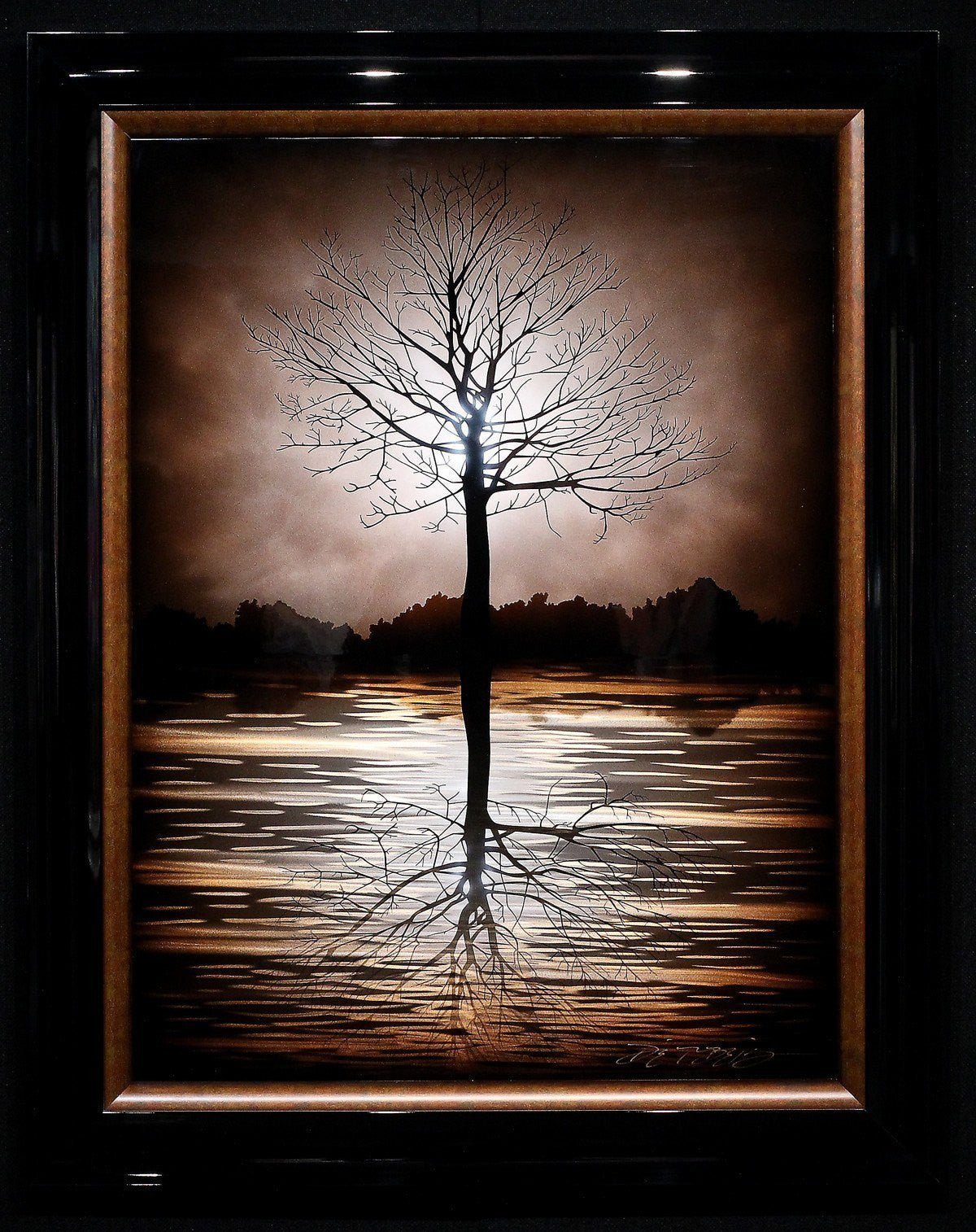 Evening Tree - SOLD Chris DeRubeis