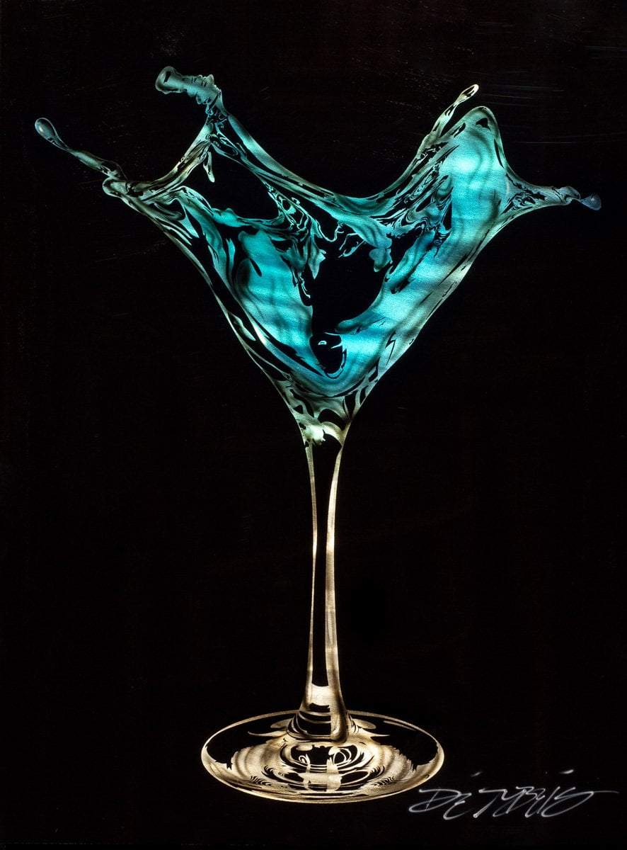 Martini Splash - Blue Chris DeRubeis Loose