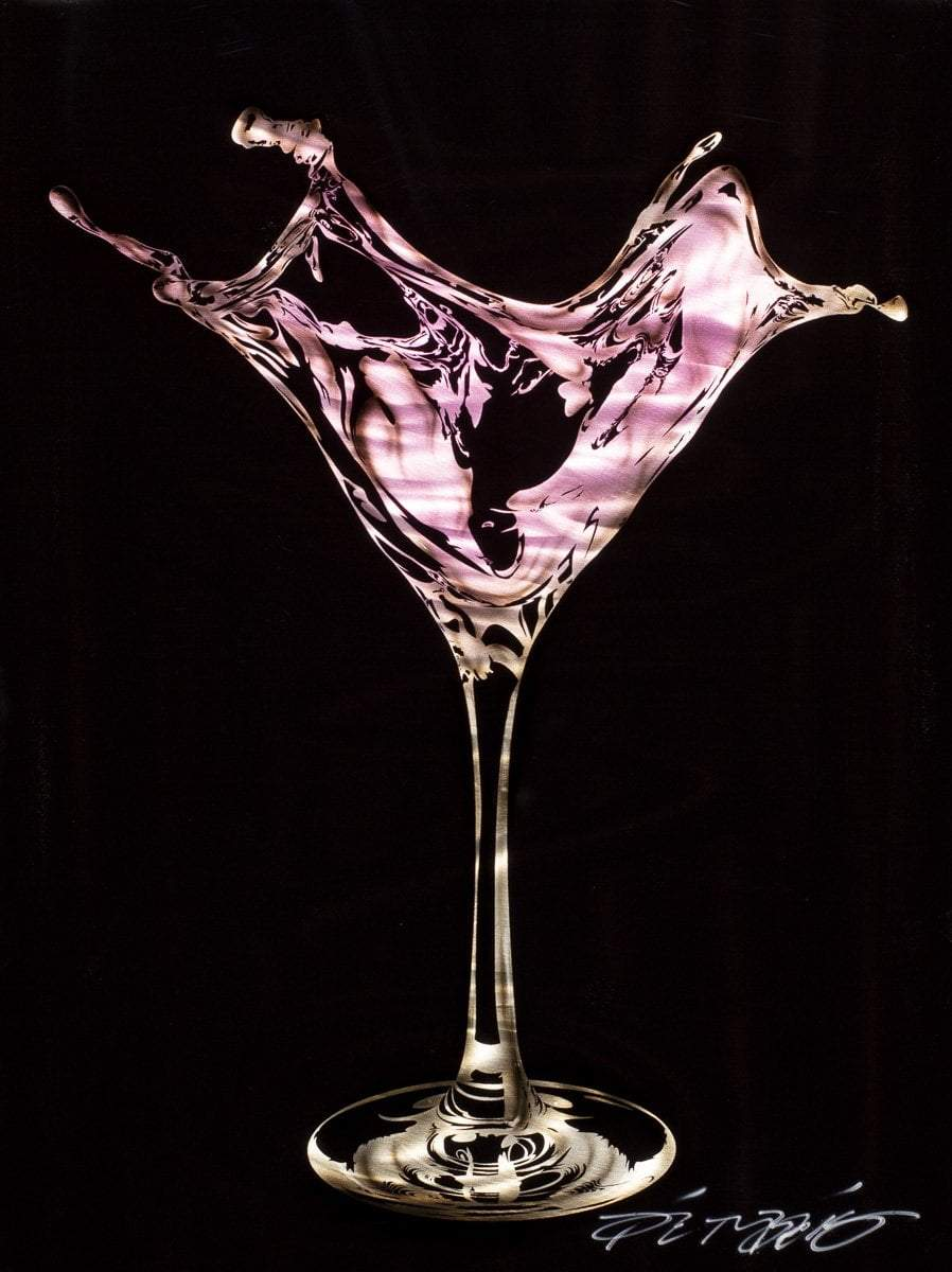 Martini Splash - Pink Chris DeRubeis Loose