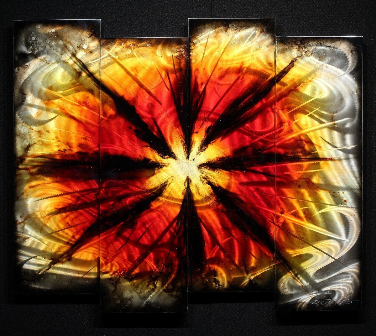 Red Burst - SOLD Chris DeRubeis