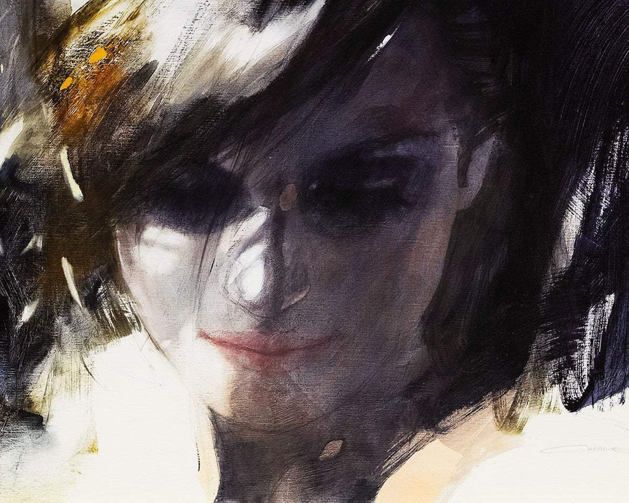 Yearning Christine Comyn Framed