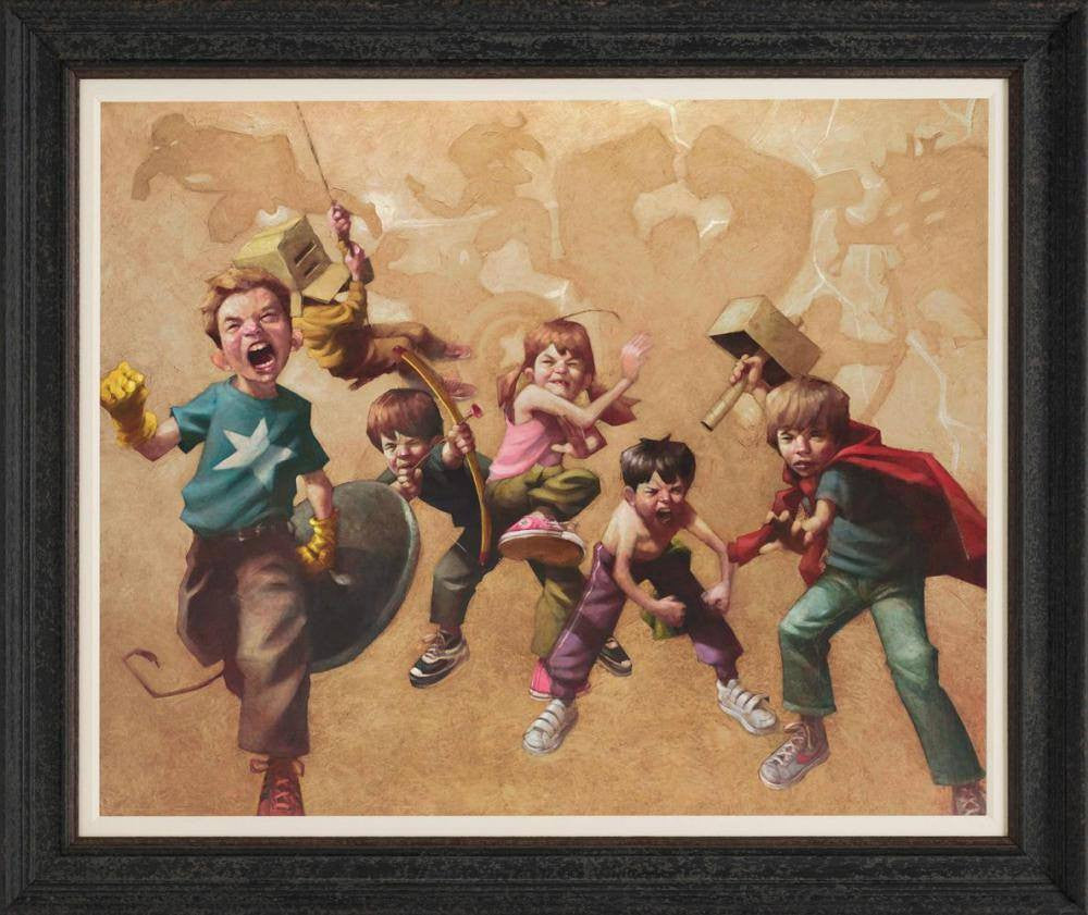 Avengers Resembled - SOLD Craig Davison