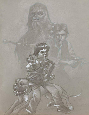 Blast 'Em Chewy (Sketch) - SOLD OUT Craig Davison