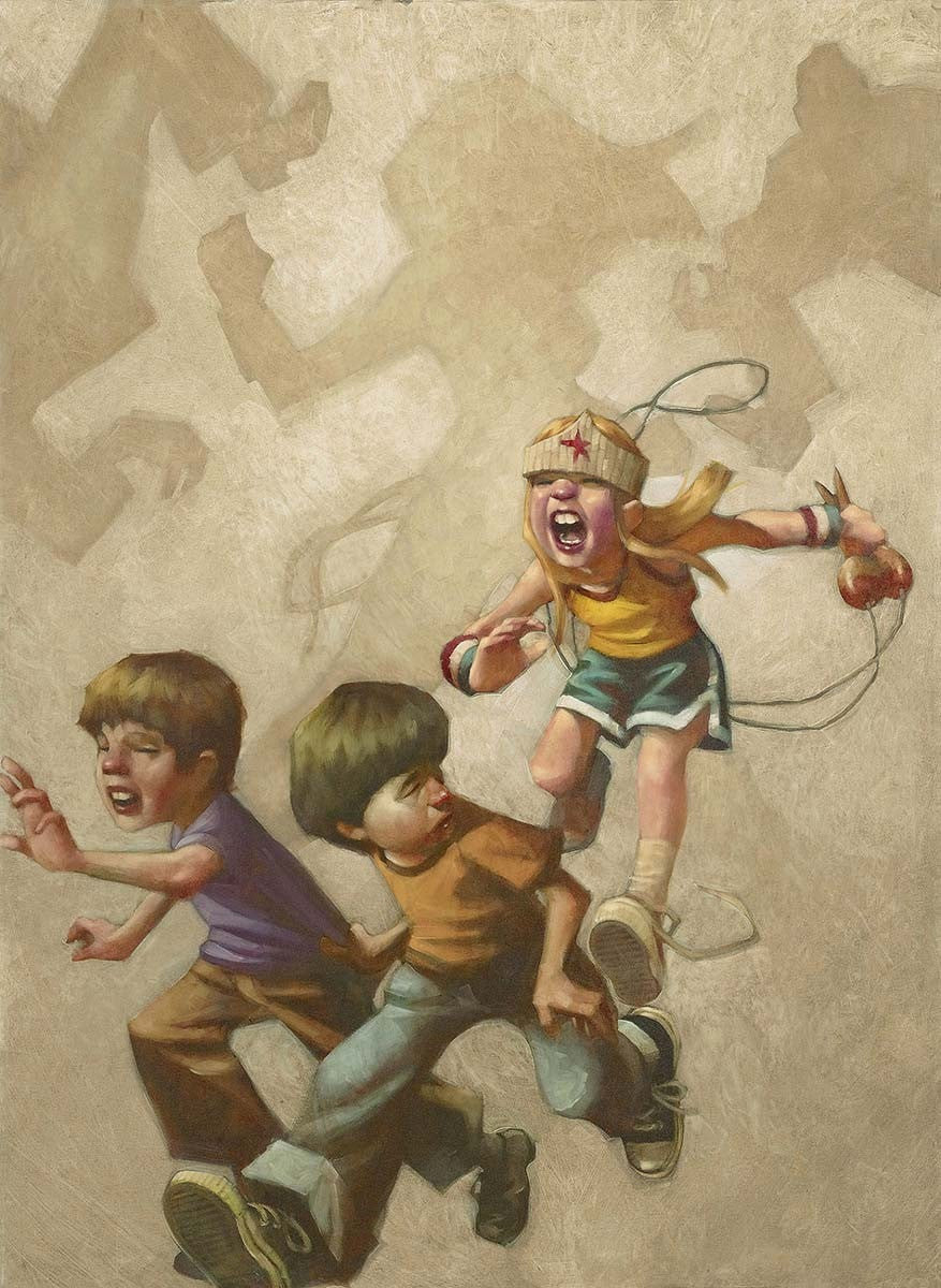Grrrl Power Craig Davison