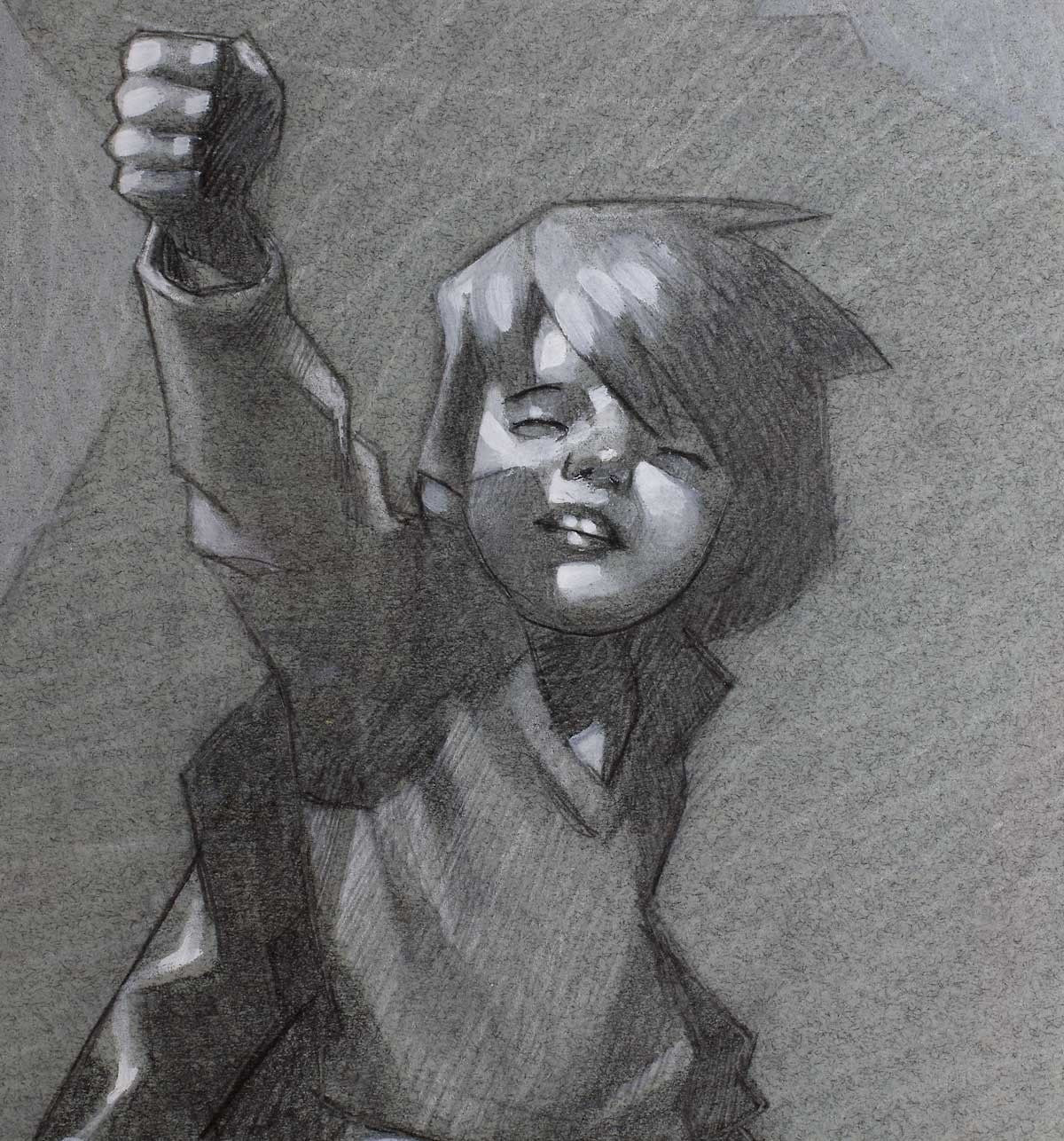 Reach for the Sky - ORIGINAL Craig Davison