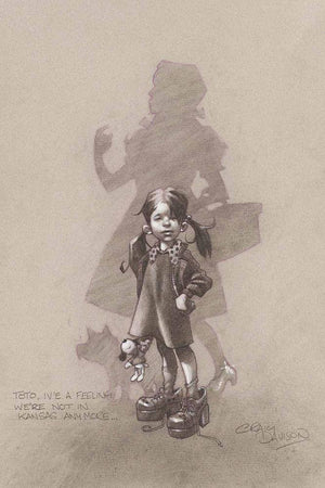 Toto, I've a Feeling We're Not in Kansas Anymore… (Sketch) - SOLD OUT Craig Davison