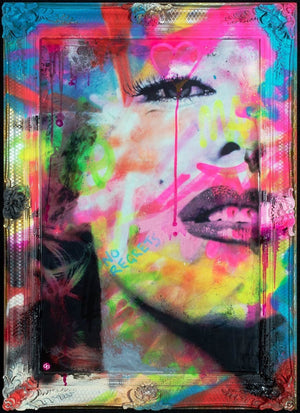 Vibrant Marilyn, Imperfection is Beauty Dan Pearce