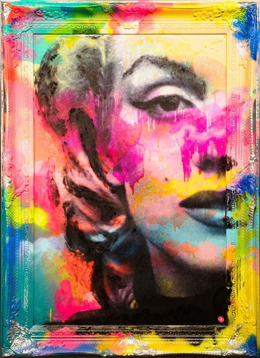 Vibrant Marilyn, We Are All of Us Stars - SOLD Dan Pearce