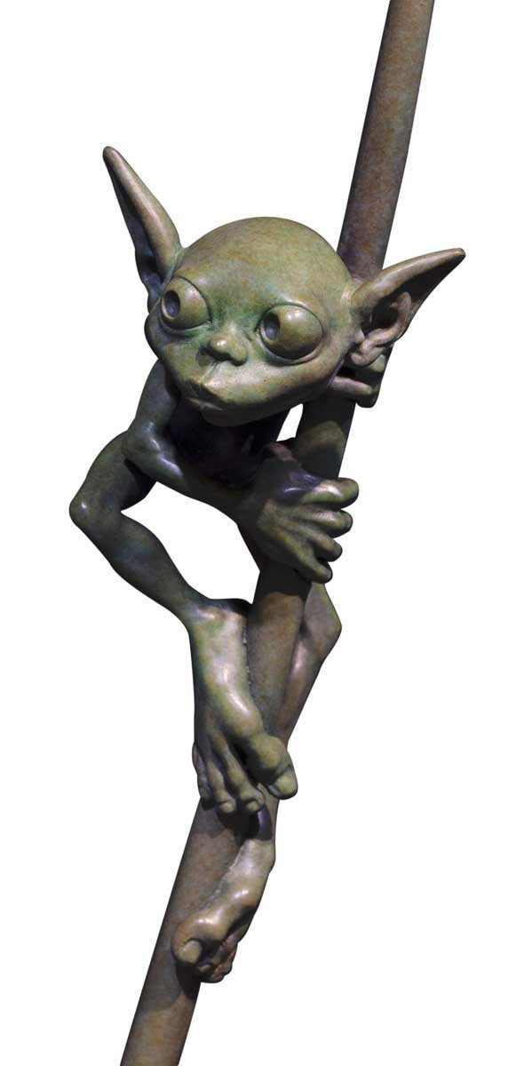 Amazon Goblin - Bronze Sculpture David Goode Bronze Sculpture