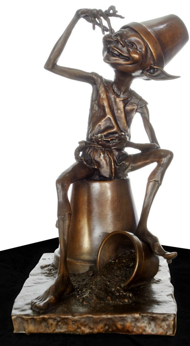 Mischief - Bronze Sculpture David Goode Loose
