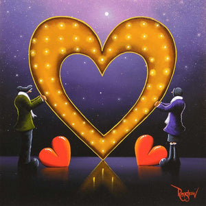 2 Hearts Beat as 1 - Sold David Renshaw