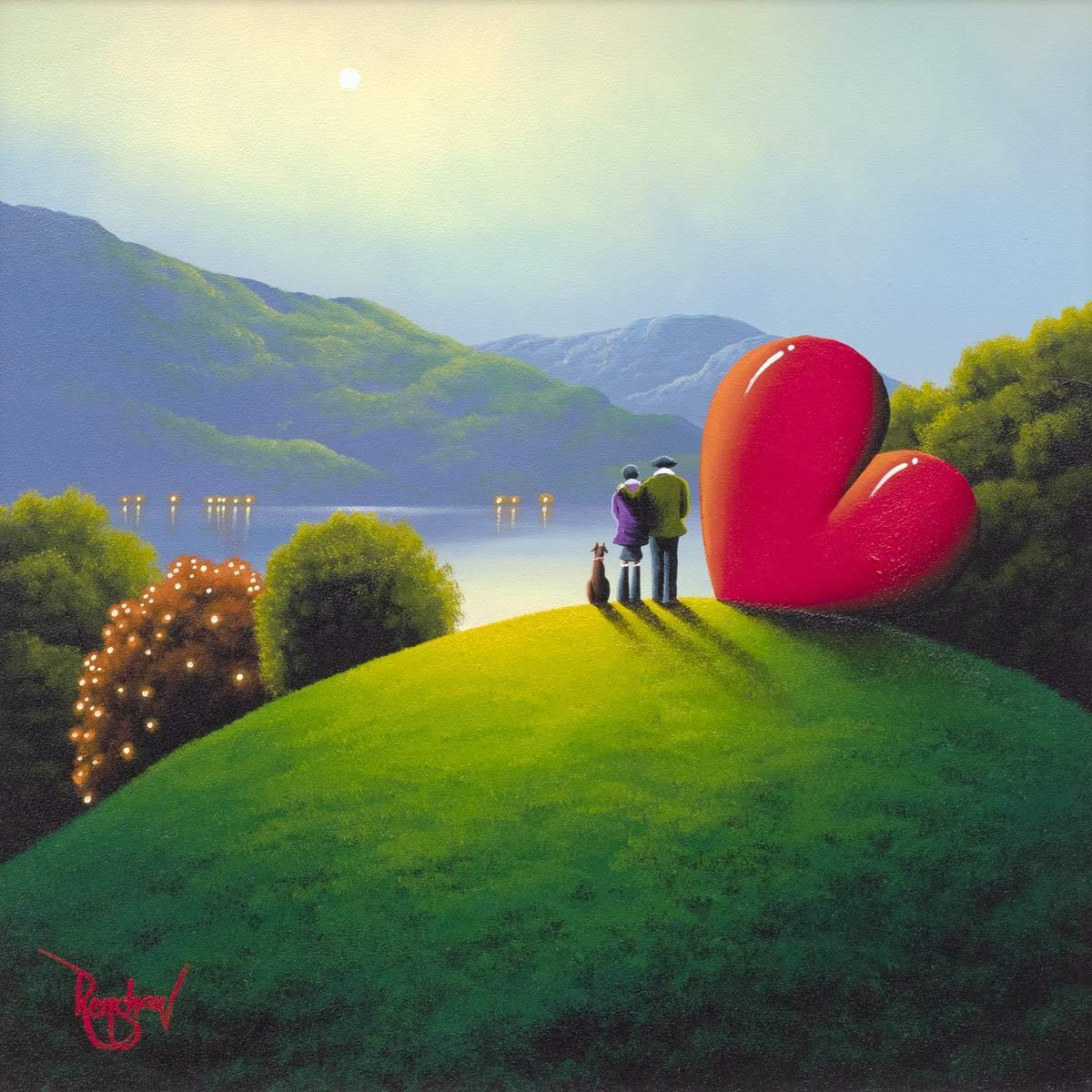 A Distant Dream - Original David Renshaw Framed