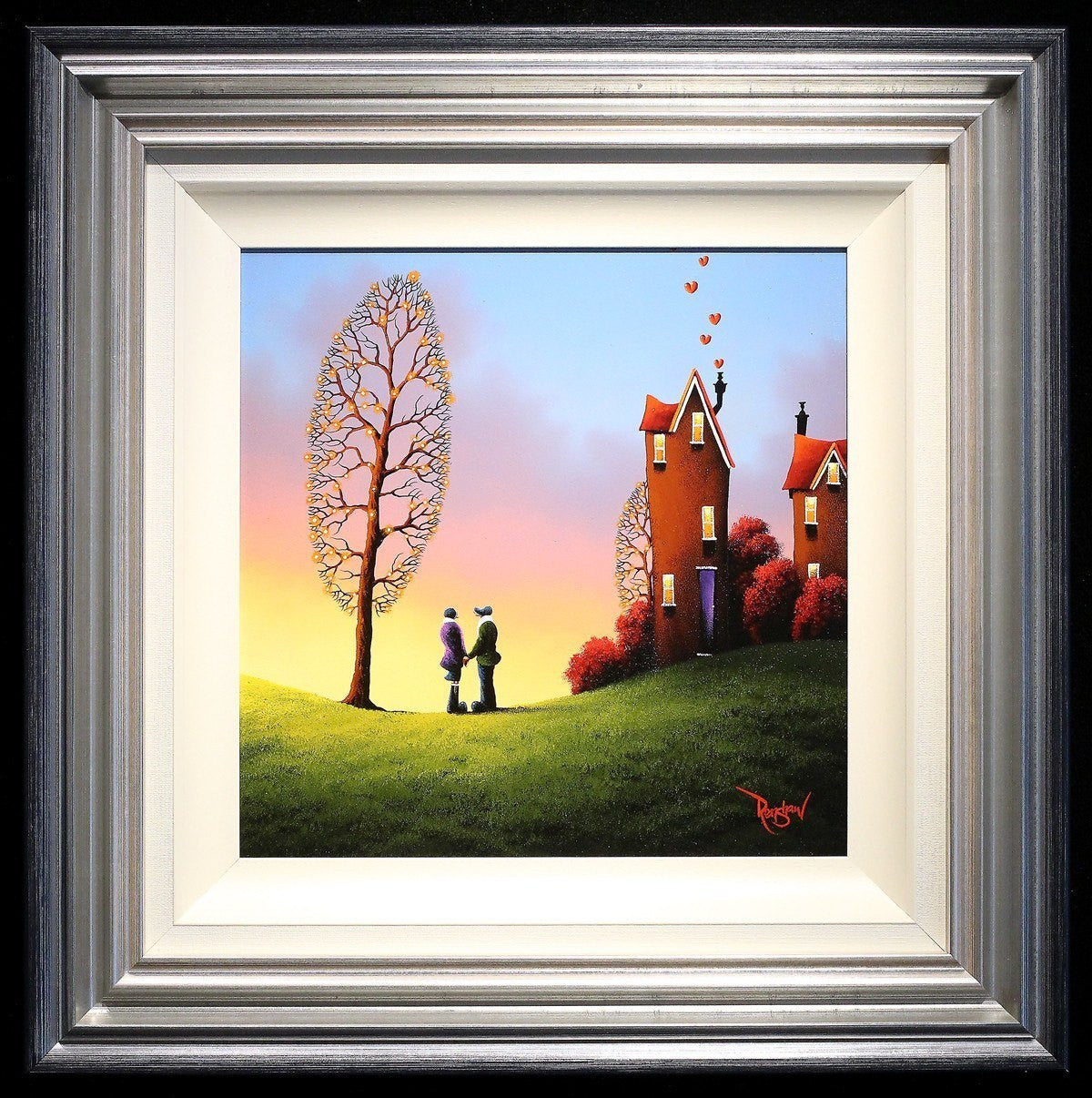 A Home Full of Love - SOLD David Renshaw